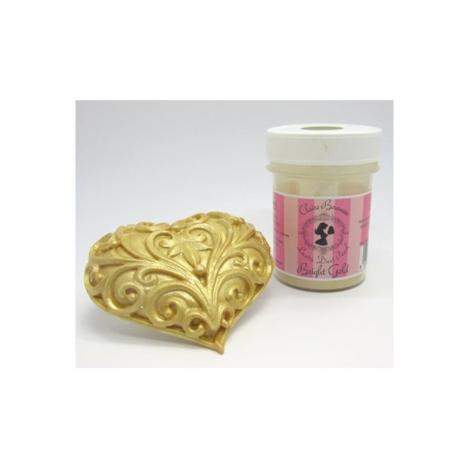 Cake Lace Bright Gold Pearl - Edible Lustre Dust 5g