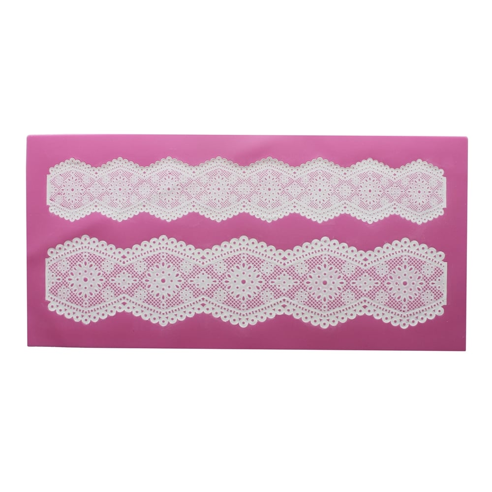 cake lace broderie anglaise 3d lace strip mat cake. Black Bedroom Furniture Sets. Home Design Ideas