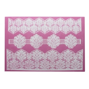 Damask 3D - Large Lace Mat