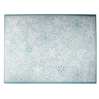 Floral Fern - Large Lace Mat & Planet Fluff