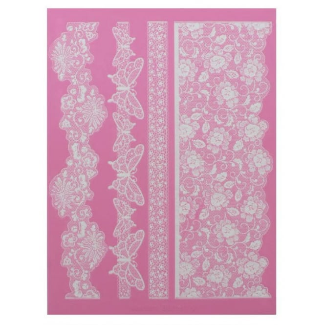 Cake Lace Madame Butterfly - Large Lace Mat