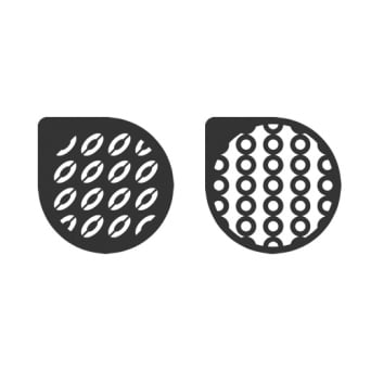 Selina Ovals And Circles Stencil Set Of 2