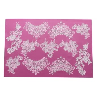 Sweet Lace - 3D Large Lace Strip