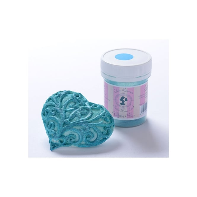 Cake Lace Tiffany Blue Pearl - Lustre Dust 5g