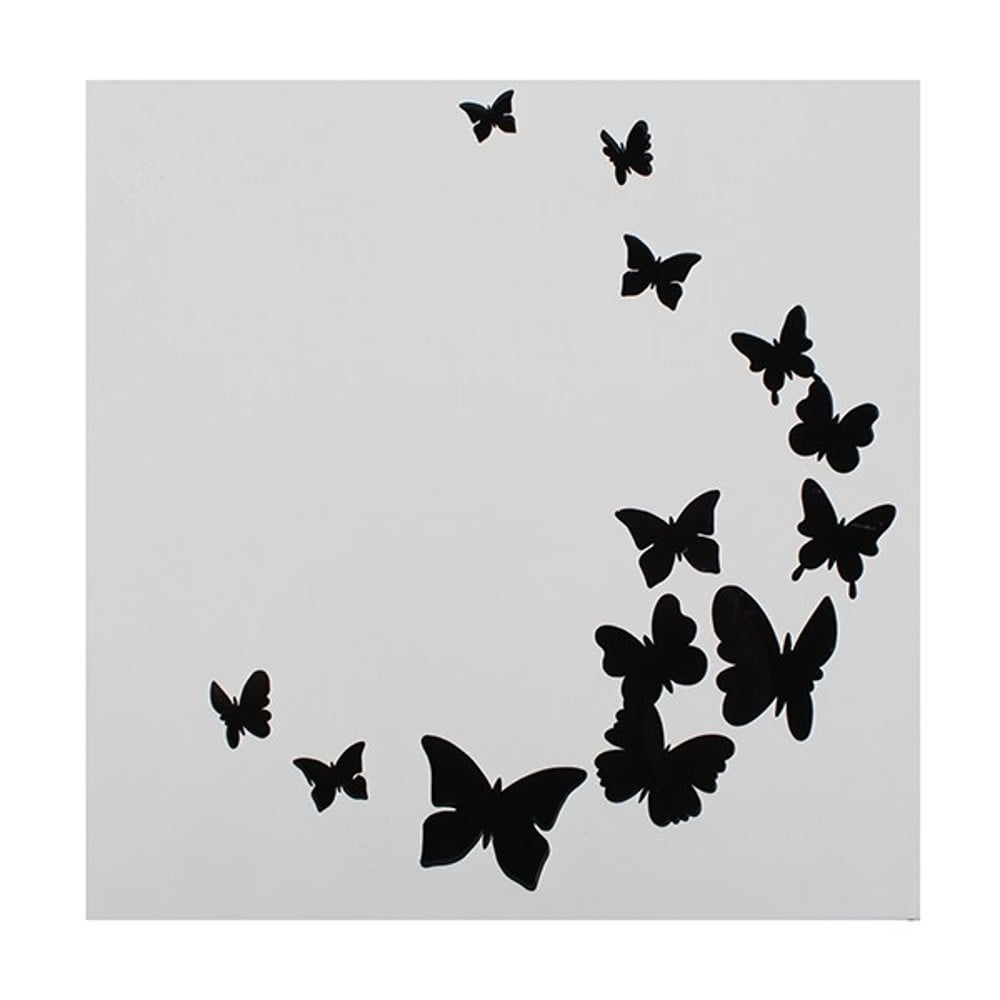 Butterfly Stencil Cake Decorating Tools