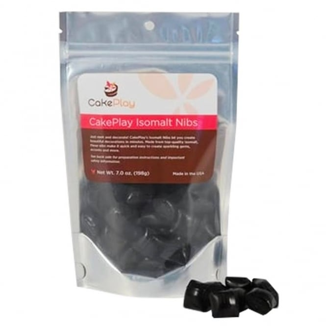 Cakeplay Pure Black - Isomalt Nibs Pack 198g