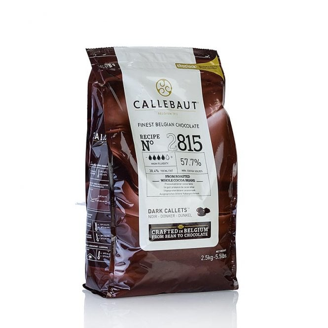 Callebaut Dark - Belgian Couverture Chocolate 2.5kg
