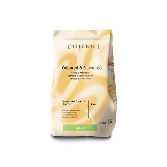 Callebaut Lime Flavoured - Belgian Couverture Chocolate2.5kg