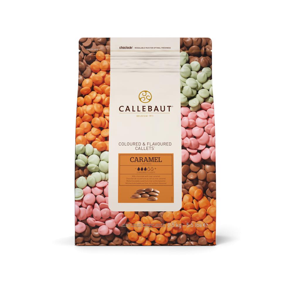Callebaut Caramel Flavoured - Belgian Couverture Chocolate 2.5kg ...