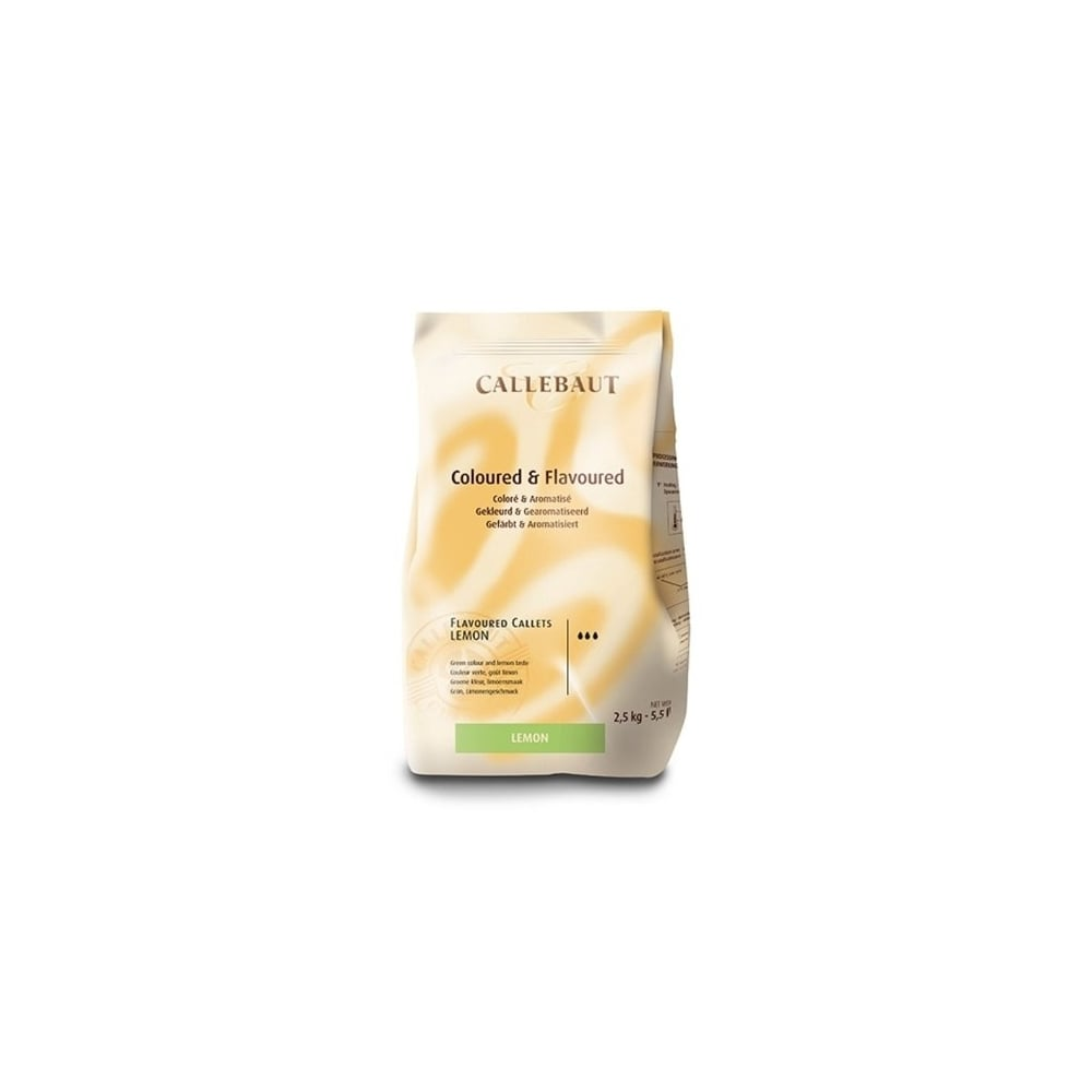 Callebaut Lime Flavoured - Belgian Couverture Chocolate2.5kg ...