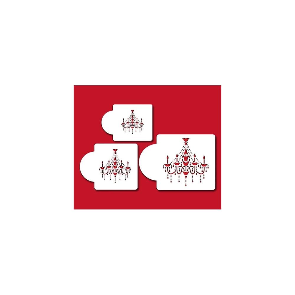 Chandelier Stencil Set Of 3 By Designer Stencils