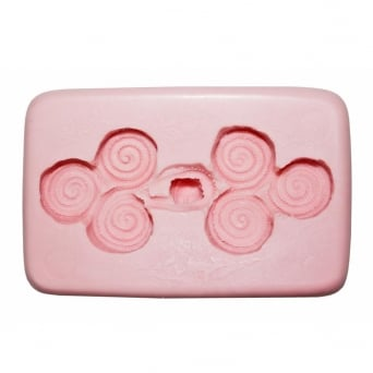Chinese Button Mould By Sunflower Sugar Art