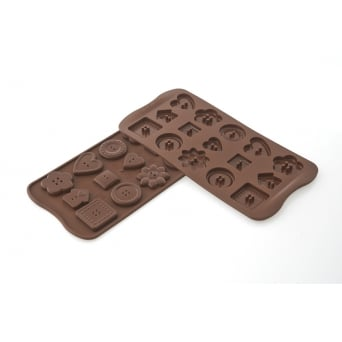 Choco Buttons Chocolate Mould By SilikoMart Easy Choc