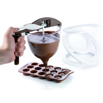 Chocolate Funnel - Funnel Choc By SilikoMart Easy Choc