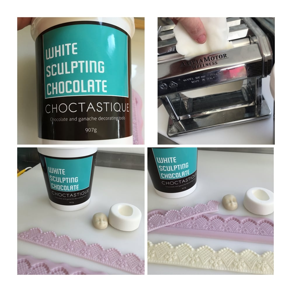 White Sculpting Modelling Chocolate 907g