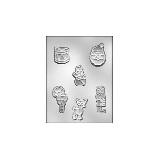 Christmas Assortment Chocolate Mould 1