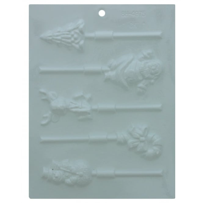 Christmas Assortment Chocolate Mould 4