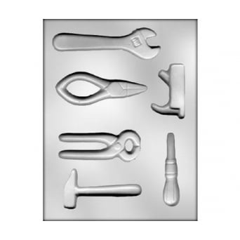 Assorted Tool Set 1 Chocolate Mould Holds 6