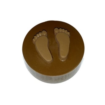 Baby Feet Chocolate Cookie Mould Holds 5