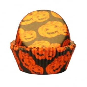 Halloween Baking Cases x 50 Cups
