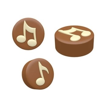 Music Notes Cookie Mould