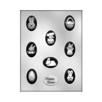 Oval Easter Mint Chocolate Mould