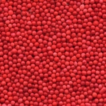 Red Non Pareils - 100g - Craft Uses Only