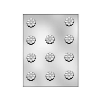 Small Daisy Chocolate Mould Holds 11