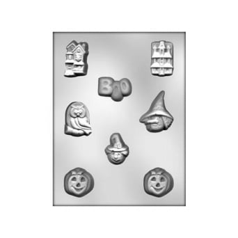 Halloween Assortment 1 Chocolate Mould By CK Products