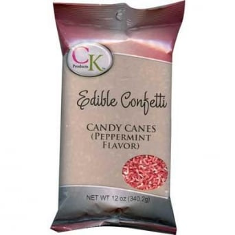Candy Cane Sprinkles 340g