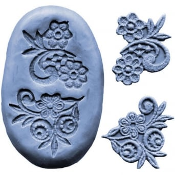 CK Silicone Small Flower Design Mould