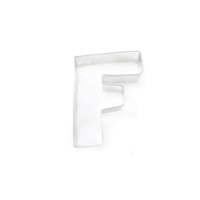 CK Products Letter F Cookie Cutter