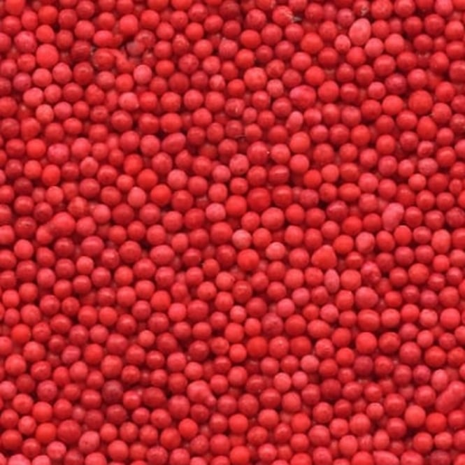 CK Products  Red Non Pareils - 100g - Craft Uses Only