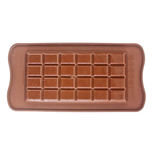 SilikoMart  Classic Chocolate Bar Mould - Silikomart Easy Choc