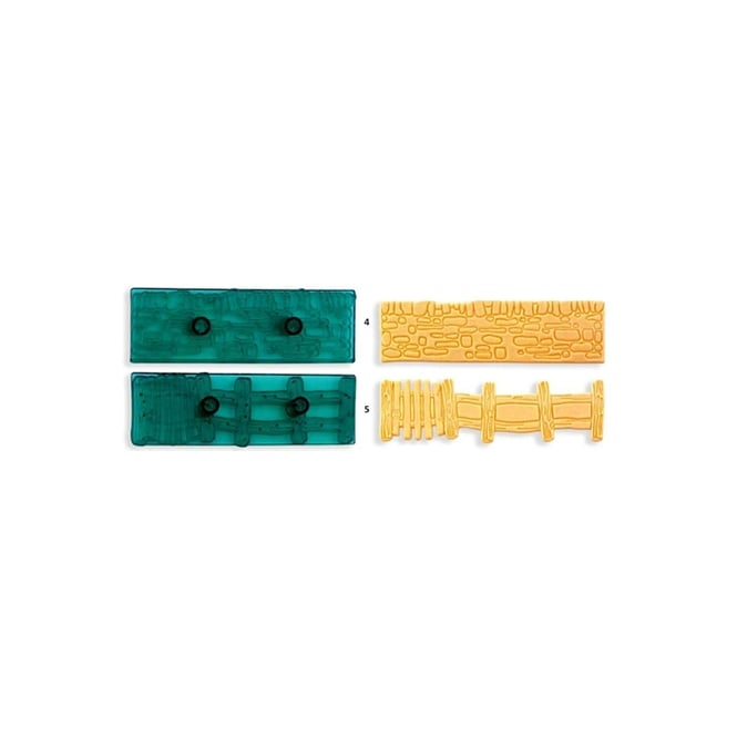 JEM Cobblestone Wall And Gate - Pack Of 2 By Cutters