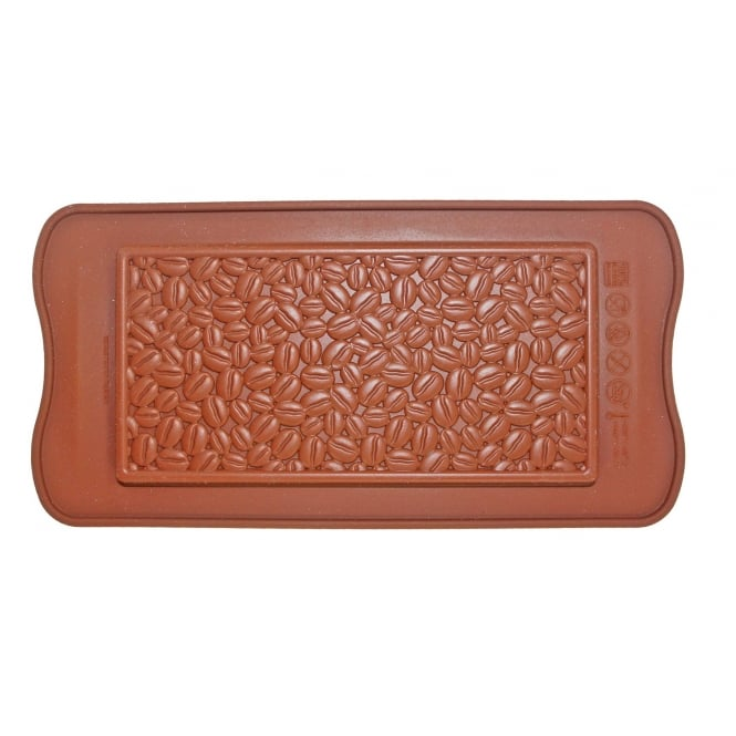 SilikoMart  Coffee Bean Chocolate Bar Mould - Silikomart Easy Choc