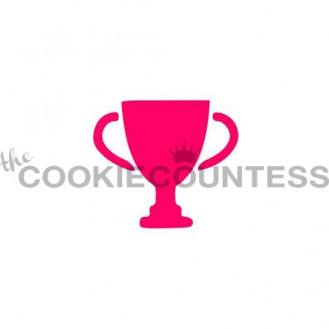 Cookie Countess Trophy Silhouette Cookie Stencil