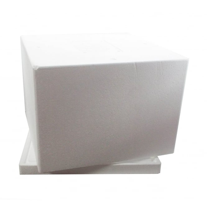 Cool Cakes 15 Inch Keep It Cool Polystyrene Cake Transport Box And Extender Frame