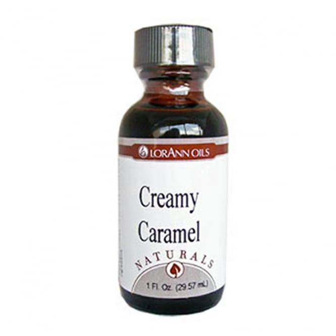 LorAnn Creamy Caramel Natural - Oils - 4oz Food Flavouring Oils