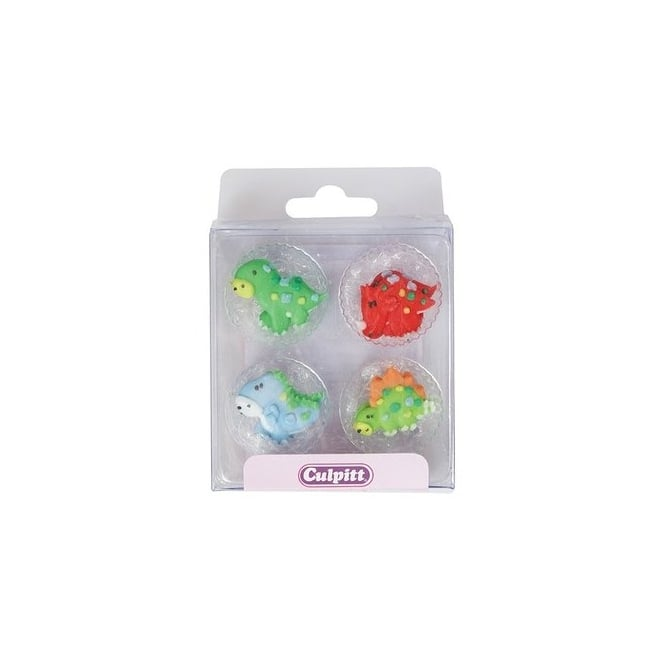 Culpitt Dinosaur Royal Icing Sugar Topper x 12