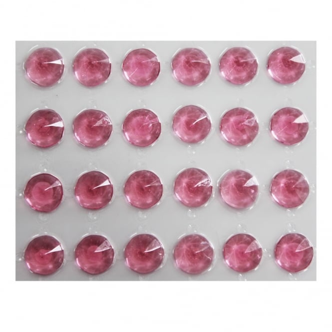 Culpitt Pink - Edible Jelly Diamonds x 24