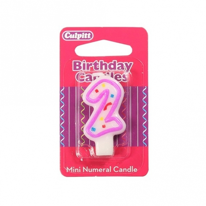 Culpitt Mini Number 2 - Party Candle
