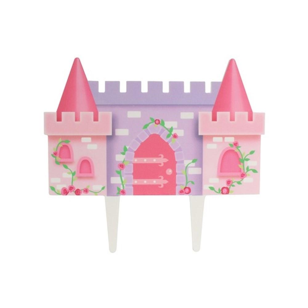Remarkable Princess Castle Cake Topper Non Edible Castle Cake Topper Decoration Funny Birthday Cards Online Barepcheapnameinfo