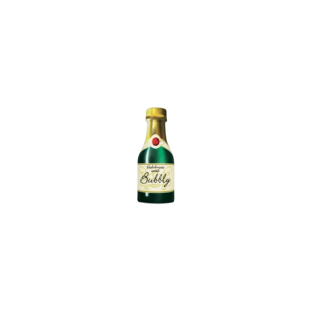 Cake Decorations Uk : Culpitt Sweetmelt Champagne Bottle Edible Topper x 1 ...