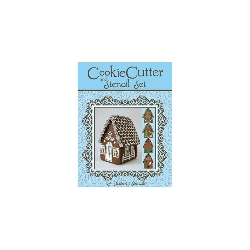 Designer Stencils Gingerbread House And Cutter Set