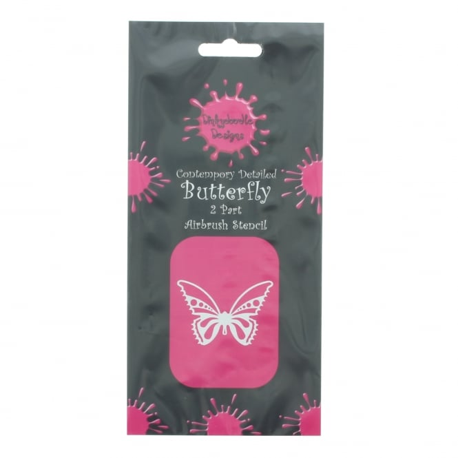 Dinkydoodle Butterflies Stencil Set Of Three