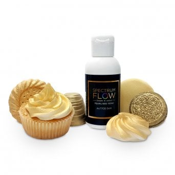 Gold Pearl - Airbrush Paint For Chocolate And Sugarpaste 100g