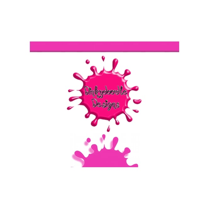 Dinkydoodle Hot Pink Matt - Airbrush Paint For Chocolate And Sugarpaste 60g