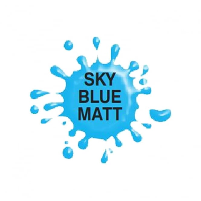 Dinkydoodle Sky Blue Matt - Airbrush Paint For Chocolate And Sugarpaste 60g