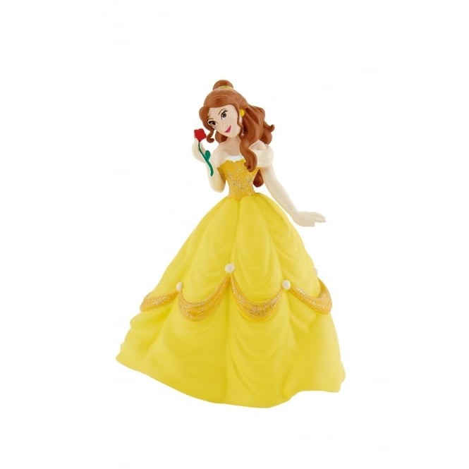 Disney Belle With Rose - Beauty And The Beast Cake Figure